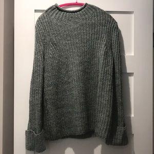 Teal chunky sweater